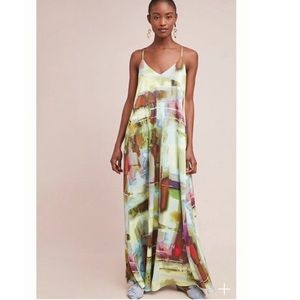 Anthropologie Nicole Miller Daylight Maxi Dress